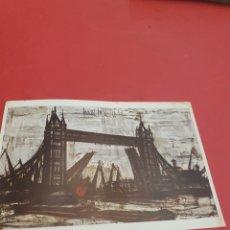 Postales: BERNARD BUFFET.LONDRES.CIRCULADA.1964. Lote 193797310