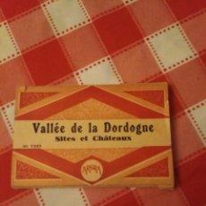 Postales: POSTALES VALLÉE DE LA DORDOGNE SITES ET CHATEAUX. Lote 193865480
