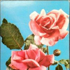 Postales: FLOR (103) ROSAS. NUEVA. COLOR. VER FOTO. Lote 194300017
