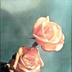 Postales: FLOR (107) ROSAS. NUEVA. COLOR. VER FOTO. Lote 194300026