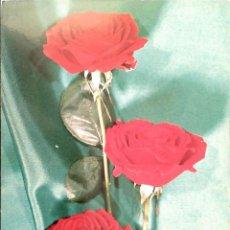 Postales: FLOR (112) ROSAS ROJAS. NUEVA. COLOR. VER FOTO. Lote 194300031