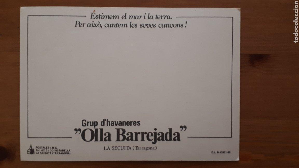 Postales: Postal grup havaneres Olla Barrejada La Secuita Tarragona - Foto 2 - 194301370
