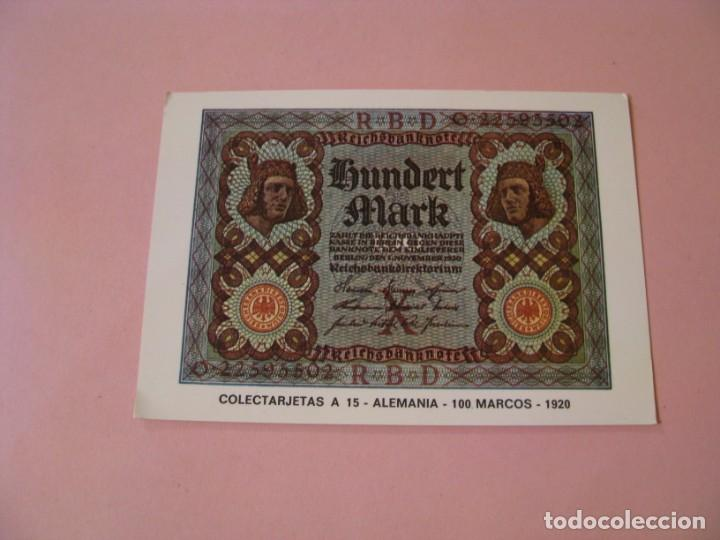 Postales: POSTAL COLECTARJETAS A 15. ALEMANIA. 100 MARCOS. 1920. ED. EUROHOBBY. - Foto 1 - 194340271