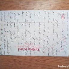 Postales: ANTIGUA POSTAL 1900, MUY RARA. ÚNICA EN TC. Lote 194505638