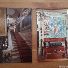 Postales: POSTAL PALAU MÚSICA CATALANA N° 3 O 12. PRECIO POR UNIDAD.. Lote 194510678