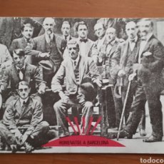 Postales: POSTAL PUBLICITARIA HOMENATGE A BARCELONA. Lote 194513171