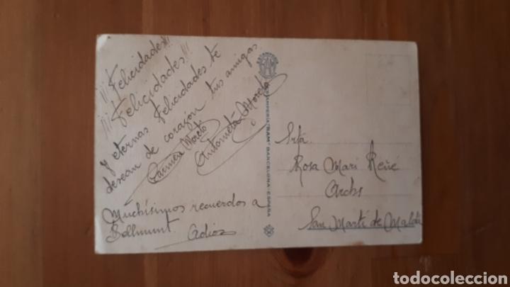Postales: Antigua postal ilustración Alsina. Años 40. - Foto 2 - 194537860