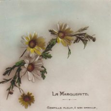 Postales: TARJETA POSTÁL. LA MARGUERITE. FRANCIA. ESCRITA.. Lote 194628707