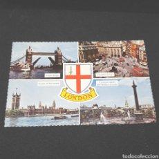 Postales: (CV.07) ANTIGU POSTAL CIRCULADA. 186. LONDON. Lote 194628895