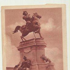 Postales: ARGENTINA. POSTAL BUENOS AIRES, MONUMENTO A GARIBALDI. FRANQUEADO Y FECHADO EN 1922. DESTINO LONDRES. Lote 194681458