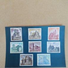 Postales: POSTAL FILATÉLICA SERIE CASTILLOS 1. Lote 194706435