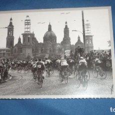 Postales: POSTAL HERALDO DE ARAGÓN REPRODUCIÓN VUELA A ESPAÑA 1956. Lote 194777851
