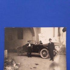 Postales: TARJETA POSTAL PEQUEÑA FOTOGRAFICA ANTIGUA. Lote 194786858