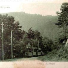 Postales: LA ROUTE ??. AUTOBÚS. USADA. BLANCO/NEGRO. VER FOTO POR BORRÓN. Lote 194872448