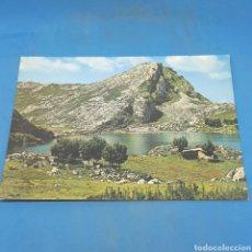 Postales: (ER.05) POSTAL NO CIRCULADA. N°37 COVADONGA. PICOS DE EUROPA. LAGO ENOL. Lote 194975761