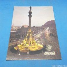 Postales: (ER.05) POSTAL NO CIRCULADA. BARCELONA. MONUMENTO A CRISTÓBAL COLÓN. Lote 194975961