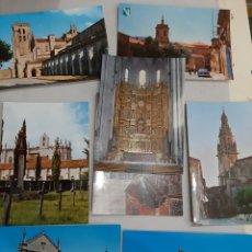 Postales: BURGOS / SANTO DOMINGO DE CAZADA Y LOGROÑO /SILOS BURGOS. Lote 195002438