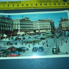 Postales: HELIOTIPIA POSTAL ANTIGUA - PUERTA DEL SOL- Nº 27 MADRID . Lote 195054991