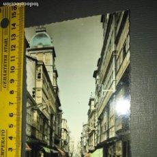 Postales: EL FERROL - CALLE DEL GENERAL FRANCO - Nº 212 ED. ARRIBAS BLANCO Y NEGRO COLOREADA . Lote 195055263