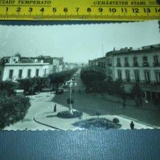 Postales: ALMERIA AVENIDA DEL GENERALISIMO Nº 232 EDICION DE AISA NO CIRCULADA BLANCO Y NEGRO . Lote 195055322
