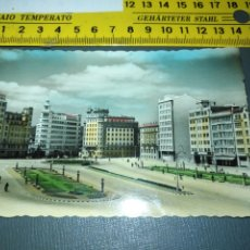 Postales: CORUÑA - FERROL - PLAZA DE ESPAÑA - POSTAL COLOREADA - ARRIBAS Nº 222. Lote 195055405