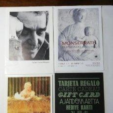 Postales: GABO-MONSERRATE Y OTRAS DOS. Lote 195109972