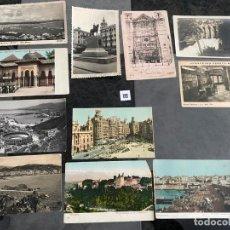 Postales: LOTE DE 11 POSTALES Y ALGUNA TARJETA DE MALAGA , GIRONA , PALMA , GRANADA ,VALENCIA VALLADOLID , ETC. Lote 195145118