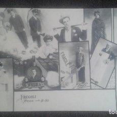Postales: POSTAL FREGOLI. TRENO 9 23. GARZINI E PEZZINI. MILANO 1903. SIN CIRCULAR.. Lote 195298350