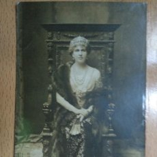Postales: POSTAL DE S. M. LA REINA VICTORIA EUGENIA, FRANZEN. Lote 195299603