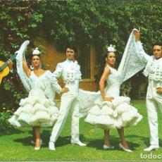 Postales: [POSTAL FOLCKÖRICA] BALLET ESPAÑOL 'LOS FLAMENCOS' (SIN CIRCULAR). Lote 195306433