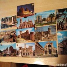 Postales: LOTE 14 POSTALES SIN CIRCULAR VALLADOLID Y PROVINCIA ESCUDO DE ORO, ARRIBAS, GARABELLA, ETC. Lote 195330030