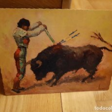 Postales: ANTIGUA POSTAL DE TOROS TAMAÑO GRANDE AÑO1959. Lote 195374456