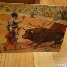 Postales: ANTIGUA POSTAL DE TOROS TAMAÑO GRANDE AÑO1959. Lote 195374977