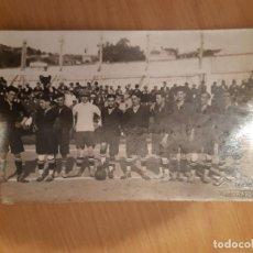 Postales: PEDRO PINILLA, TERCERO POR LA DERECHA EN UNA DE LAS PRIMERAS ALINEACIONES DEL CELTA 1922. Lote 195506137