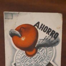 Postales: POSTAL CAJA PENSIONES PARA LA VEJEZ Y DE AHORROS AÑOS 40. Lote 195513067