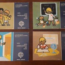 Postales: POSTAL AÑO INTERNACIONAL DEL NIÑO 1979 LOTERÍA NACIONAL. Lote 195513157