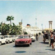 Postales: == B1576 - POSTAL - GENOVA - ALICANTE - MALAGA / GENOVA - TUNIS. Lote 195514190