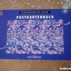 Postales: LIBRO CON 23 POSTALES 3D OJO MÁGICO. Lote 195525105