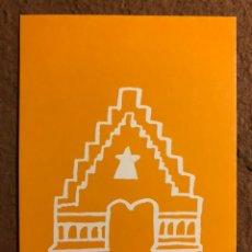 Postales: CENTS ANYS A BARCELONA, MARISCAL AL MOLL DE LA FUSTA (1989). TARJETA PROMOCIONAL.. Lote 195790026
