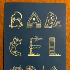 Postales: CENTS ANYS A BARCELONA, MARISCAL AL MOLL DE LA FUSTA (1989). TARJETA PROMOCIONAL.. Lote 195790100