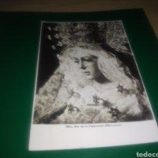 Postales: ANTIGUA Y BELLA FOTO POSTAL DE LA ESPERANZA MACARENA DE SEVILLA. ESTUDIOS HARETON DE SEVILLA. Lote 196003767