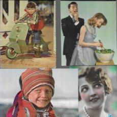 Postales: 25 POSTALES FOTO * NIÑOS - PAREJAS - Y SIMILIARES* (LOTE 150). Lote 196215362
