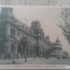 Postales: POSTAL BUENOS AIRES. DEPOSITO DE LAS AGUAS CORRIENTES. A 57. PEUSER.. Lote 196865786