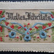 Postales: POSTAL DE FELICITACIÓN : MOLTES FELICITATS DEL AÑO 1926, CIRCULADA. Lote 197095420