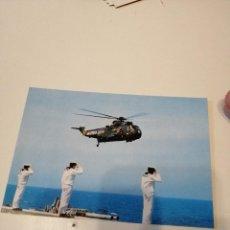 Postales: C-LL43 POSTAL ARMADA ESPAÑOLA HELICOPTERO SIKORSKY SHD3 5ª ESCUADRILLA. Lote 219134380