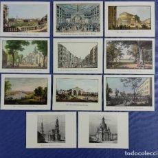 Postales: PAISAJES URBANOS DE DRESDE DRESDEN - REPRODUCCIÓN 17 X 12,3 CM. Lote 197432672