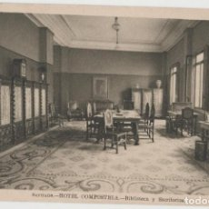 Cartes Postales: LOTE V-POSTAL HOTEL COMPOSTELA SANTIAGO GALICIA. Lote 197641711