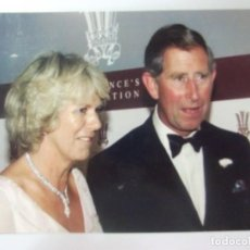 Postales: POSTAL PRINCIPE CARLOS H.R,H. PRINCE OF WALES AND H.R.H. THE DUCHESS OF CORNWALL. Lote 197700181