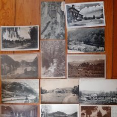 Postales: CONJUNTO DE 22 POSTALES DE LA CERDANYA Y ALREDEDORES.. Lote 198310186