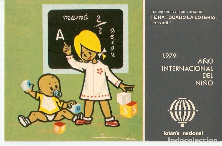 POSTAL LOTERIA NACIONAL 1979 - SERIE L - Nº 1 (Postales - Varios)